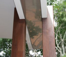 Double Post - Stainless Steel Gutter