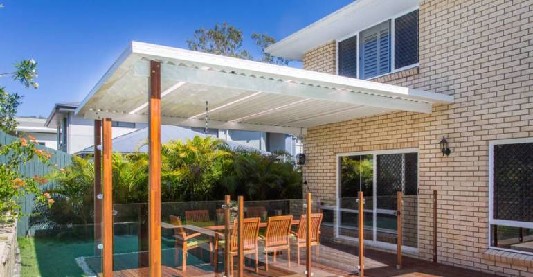 Experience the difference with a Coolskin Aluminium Patio