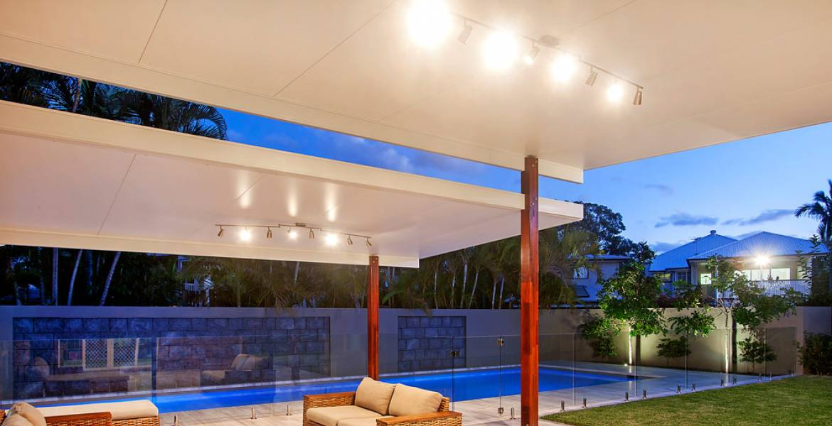 Sunclipse Insulated Patio - Twin Elevated Roof